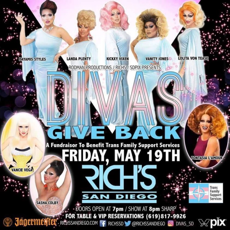 DIVAS GIVE BACK — A Fundraiser to Support TransFamily!