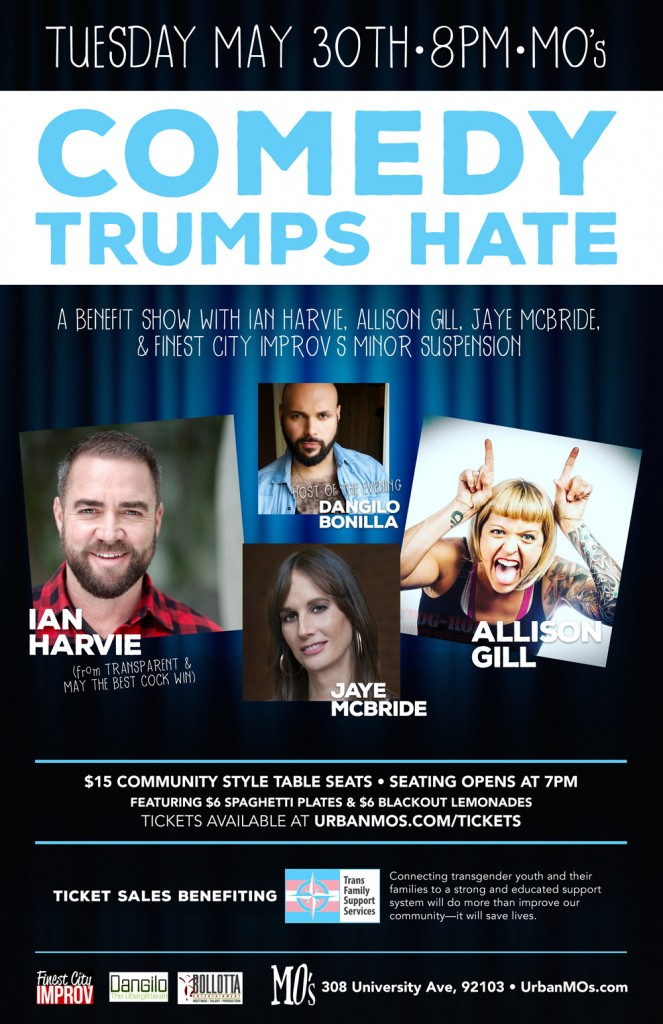 Comedy Trumps Hate Supports TransFamily!