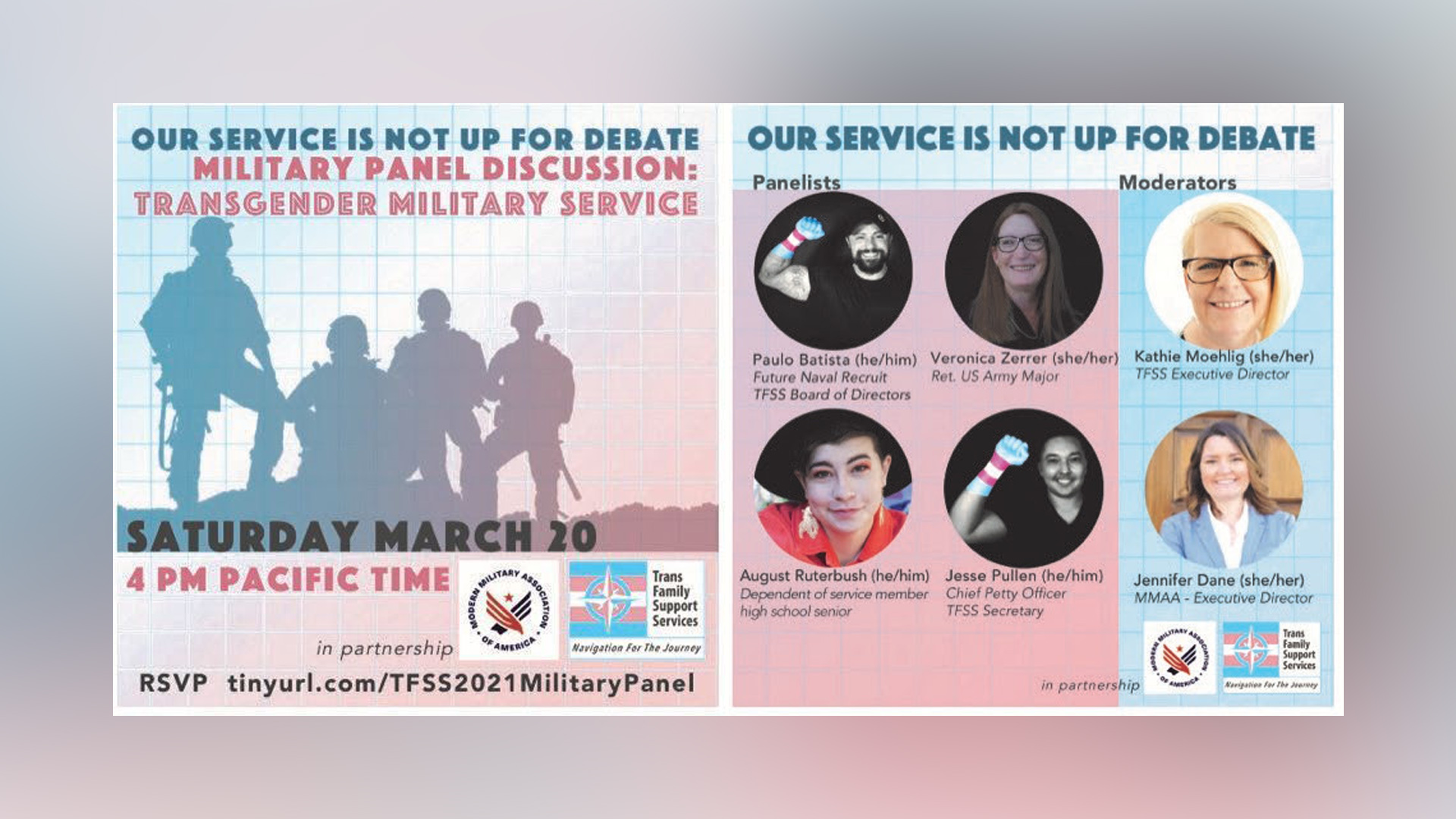 Transgender Military Discussion Panel - Online